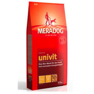 MeraDog Univit сухой корм для собак с нормальной активностью (суп) 12,5 кг