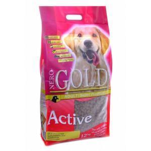 Nero Gold Active сухой корм для активных собак 12 кг