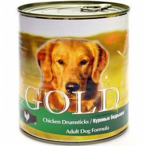 NERO GOLD Chicken Drumsticks консервы для собак с курицей