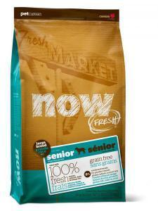 Now Fresh Senior Large Breed сухой корм для стареющих собак крупных пород