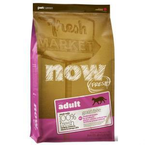 Now Natural Fresh Grain Free Adult Cat Recipe 31/18 сухой беззерновой корм для кошек с уткой