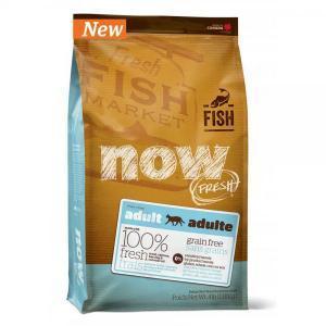 Now Natural Fresh Grain Free Fish Adult Recipe сухой беззерновой корм для кошек с рыбой