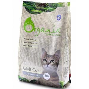 Organix Adult Cat Lamb сухой корм для кошек с ягненком при пищевой аллергии