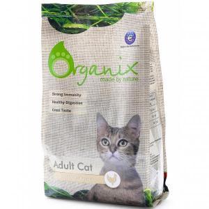 Organix Adult Cat Chiken сухой корм для кошек с курицей
