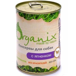 Organix Консервы для собак с ягненком 410 г