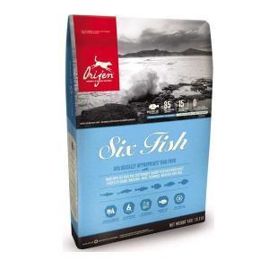 Orijen Adult 6 Fish сухой корм для собак всех пород 6 рыб 11,4 кг