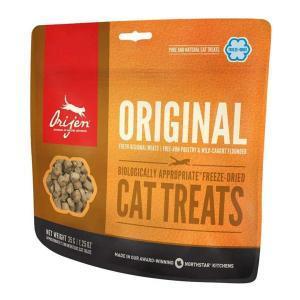 Orijen Cat Treats Original лакомство для кошек с цыпленком, индейкой и камбалой 35 г