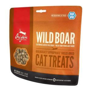 Orijen Cat Treats Wild Boar лакомство для кошек с мясом дикого кабана 35 г