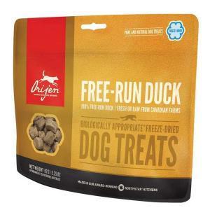 Orijen Dog Treats Free-run Duck лакомство для собак с уткой 92 г