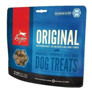 Orijen Dog Treats Original лакомство для собак с цыпленком, индейкой и камбалой 92 г