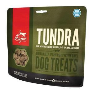 Orijen Dog Treats Tundra лакомство для собак с оленем перепелом и форелью 92 г
