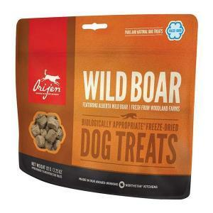 Orijen Dog Treats Wild Boar лакомство для собак из кабана 92 г