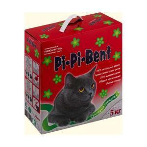 Pi-Pi-Bent наполнитель для кошачьего туалета Сенсация свежести 5 кг