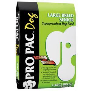 Pro Pac Large Breed Senior сухой корм для стареющих собак крупных пород 15 кг