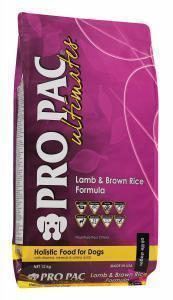 Pro Pac Ultimates Lamb & Brown Rice сухой корм для собак Ягненок/коричневый рис 12 кг