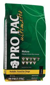 Pro Pac Ultimates Mature сухой корм для пожилых и стерилизованных собак 12 кг