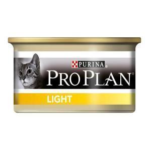 Pro Plan Adult Light Turkey консервы для кошек облегченные с индейкой 85 г (24 штуки)