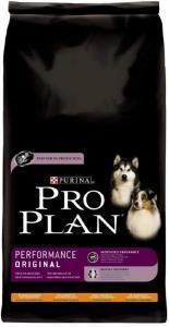 Pro Plan Adult Performance сухой корм для активных собак с курицей 14 кг