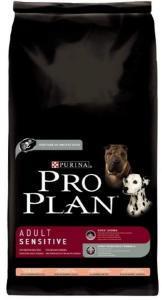 Pro Plan Adult Sensitive сухой корм для собак с лососем 14 кг