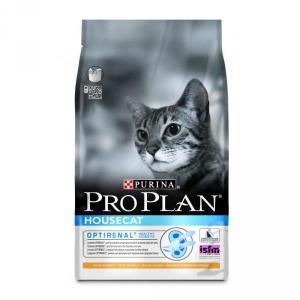 Pro Plan House Cat сухой корм для кошек с низкой активностью Курица с Рисом