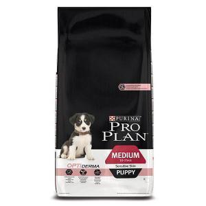 Pro Plan Puppy medium Sensitive сухой корм для чувствительных щенков средних пород 12 кг
