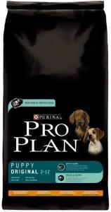 Pro Plan Puppy Original сухой корм для щенков с курицей и рисом 14 кг