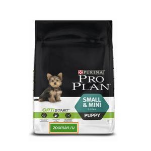 Pro Plan Puppy Small & Mini сухой корм для щенков мелких пород 7 кг