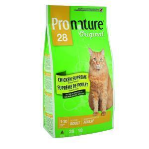 Pronature 28 сухой корм для кошек с курицей