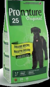 Pronature Adult Original 25 сухой корм для собак без сои, пшеницы, кукурузы