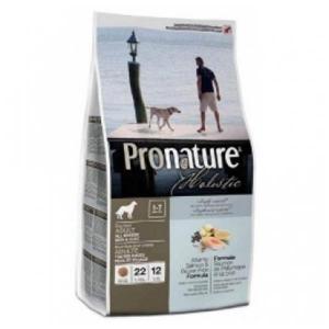 Pronature Holistic Atlantic Salmon & Brown Rice сухой корм для собак с лососем и коричневым рисом