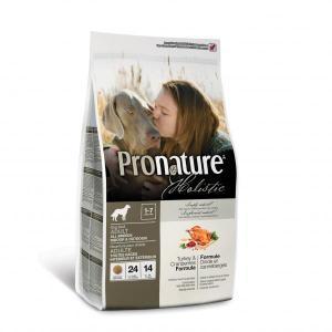 Pronature Holistic Turkey & Cranberries сухой корм для собак с клюквой и индейкой
