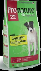 Pronature Original 22 Adult сухой корм с ягненком для собак всех пород 13 кг