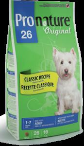 Pronature Original 26 Adult Small and Medium Breeds сухой корм для собак мелких и средних пород