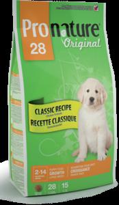 Pronature Original 28 Puppy Large Breed сухой корм для щенков крупных пород