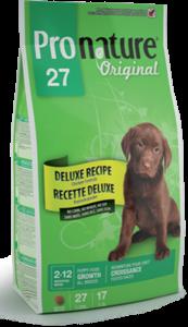 Pronature Puppy Original 27 сухой корм для щенков без сои, пшеницы, кукурузы 16 кг