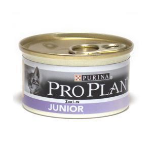 Purina Pro Plan Kitten консервы для котят 85 г (24 штуки)