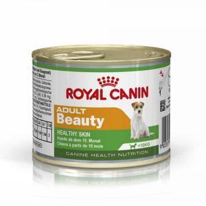Royal Canin Adult Beauty консервы-мусс для собак Красивая Шерсть 200 г (12 штук)