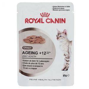 Royal Canin Ageing +12 влажный корм для кошек старше 12 лет (в соусе) 85г*12шт