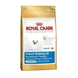 Royal Canin French Bulldog 30 Junior сухой корм для молодых собак породы французский бульдог 10 кг