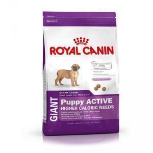 Royal Canin Giant Puppy Active сухой корм для активных щенков гигантских пород до 8 мес. 15 кг