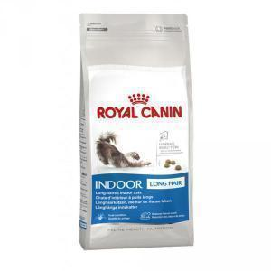 Royal Canin Indoor Long Hair 35 сухой корм для длинношерстных домашних кошек 10 кг