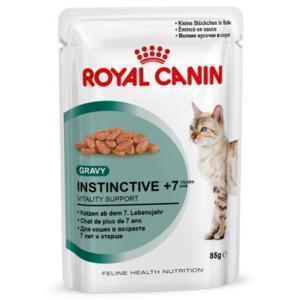 Royal Canin Instinctive +7 влажный корм для кошек старше 7 лет (в соусе) 85г*12шт