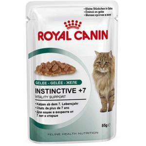 Royal Canin Instinctive +7 влажный корм для кошек старше 7 лет (в желе) 85г*12шт