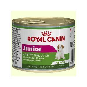 Royal Canin Junior консервы-мусс для щенков 200 г (12 штук)