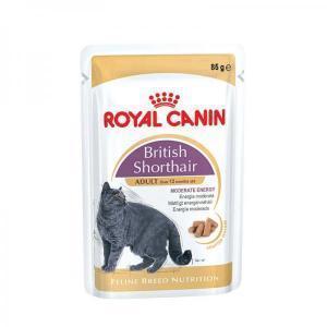 Royal Canin консервы для кошек породы британская короткошерстная 85 г (12 штук)
