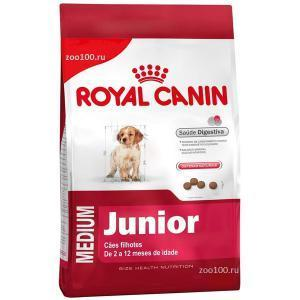 Royal Canin Medium Junior сухой корм для щенков средних пород 15 кг