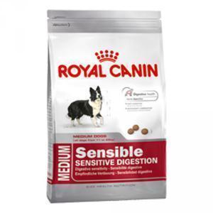 Royal Canin Medium Sensible для собак средних пород с проблемным пищеварением сухой корм 15 кг