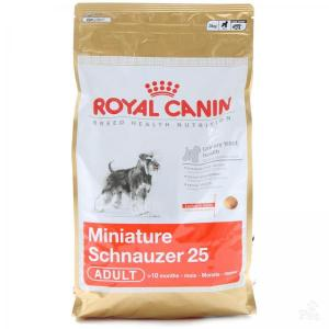 Royal Canin Miniature Schnauzer 25 сухой корм для собак породы миниатюрный шнауцер 7,5 кг
