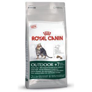 Royal Canin Outdoor +7 сухой корм для кошек старше 7 лет бывающих на улице 10 кг