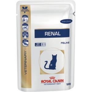 Royal Canin Renal диета для кошек при заболеваниях почек 100г*12шт
